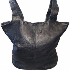 Frye Bucket Shoulder Bag Boho Chic Leather Tote